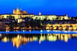 Prague Castle After Dark - preview image