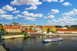 Vltava river cruise with dinner and live music - preview image