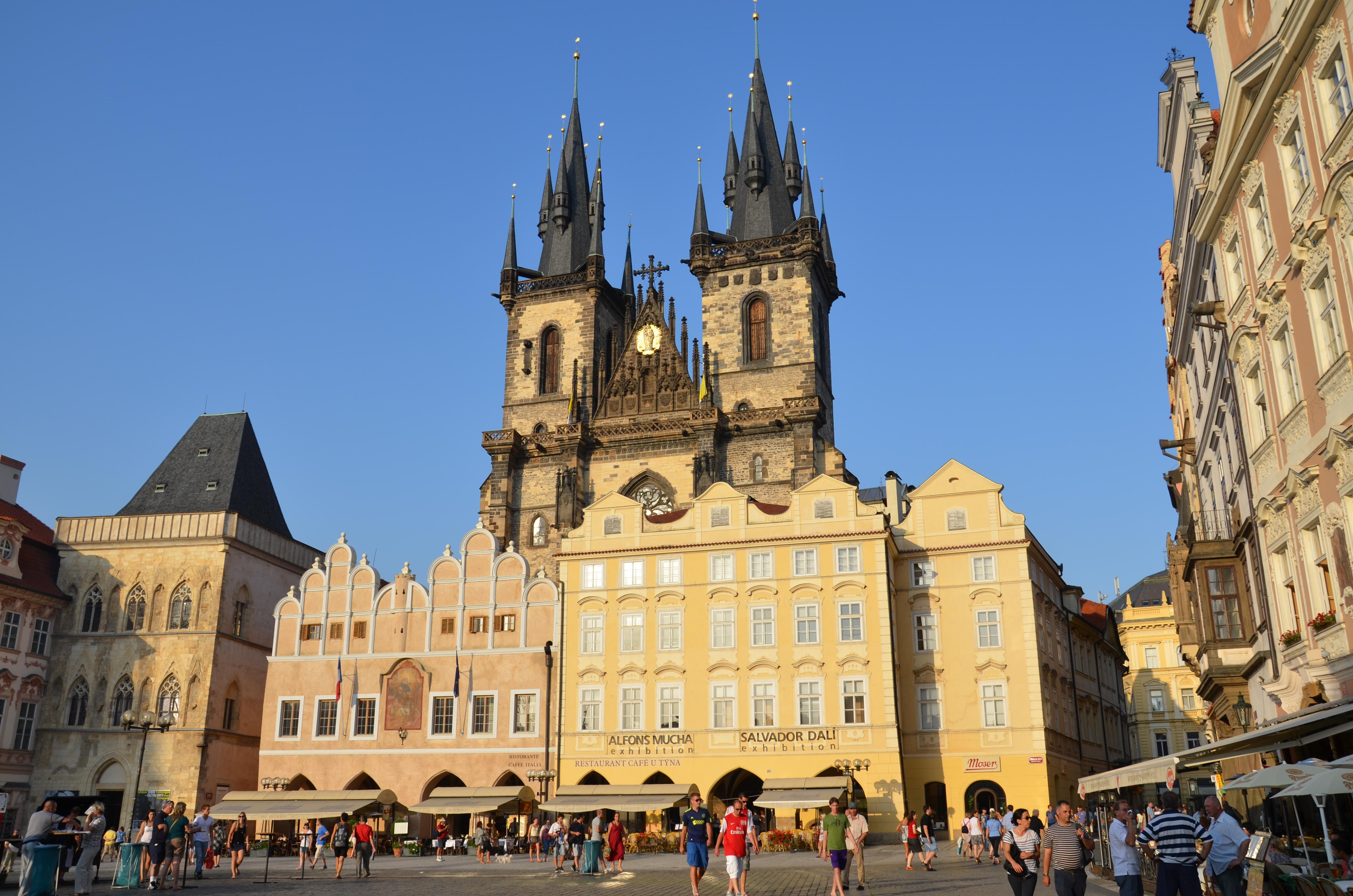 Prague historical center buy ticket online for Prague center